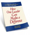 How One Leader Can Make a Difference